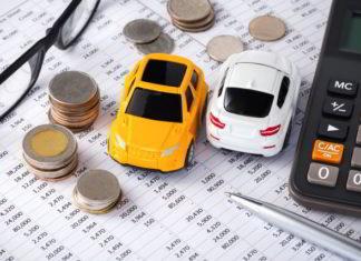 Miniaturki samochodów sprzedanych do skupu aut Filar w Gdańsku